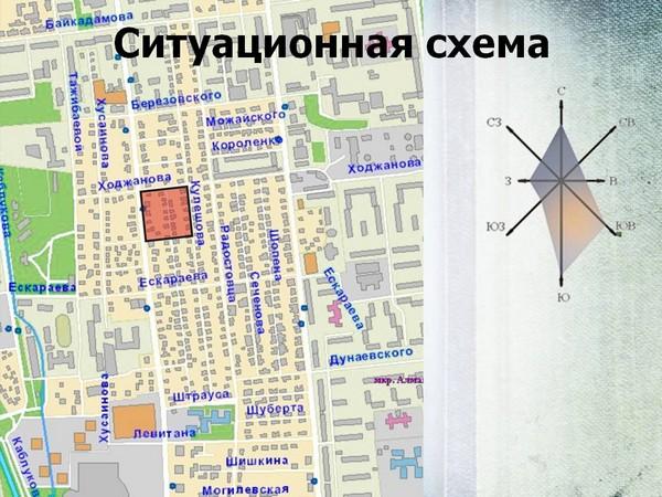 Ситуационная схема (место